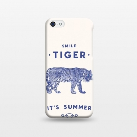 iPhone 5C  Smile Tiger main by Florent Bodart ()