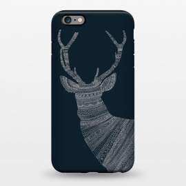 iPhone 6/6s plus  Stag Blue Poster blue by Florent Bodart