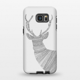 Galaxy S7 EDGE  Stag Grey Poster grey by Florent Bodart