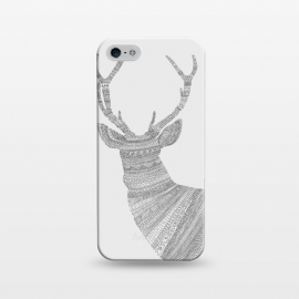 iPhone 5/5E/5s  Stag Grey Poster grey by  ()