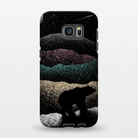 Galaxy S7 EDGE  Wandering Bear by Florent Bodart