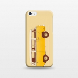 iPhone 5C  Yellow Van by Florent Bodart