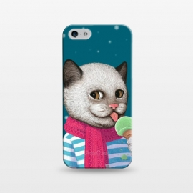 iPhone 5/5E/5s  Cat and Ice Cream by Tummeow