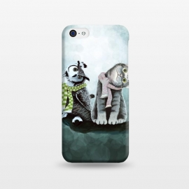 iPhone 5C  Cat and Owl by Tummeow ()