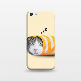 iPhone 5C  Cat in The Paper by Tummeow ()