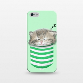 iPhone 5/5E/5s  Cat in The Pocket by Tummeow ()