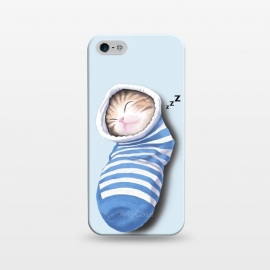 iPhone 5/5E/5s  Cat in The Sock by Tummeow ()