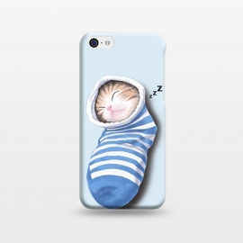 iPhone 5C  Cat in The Sock by Tummeow