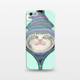 iPhone 5/5E/5s  Cat in The Zip by Tummeow ()