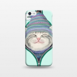 iPhone 5C  Cat in The Zip by Tummeow ()