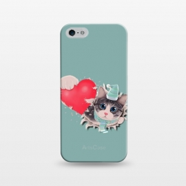 iPhone 5/5E/5s  Cat Steal your Heart by Tummeow ()