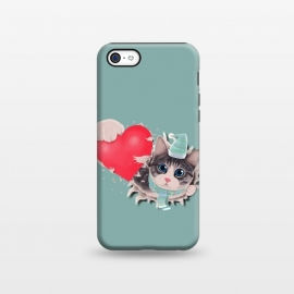 iPhone 5C  Cat Steal your Heart by Tummeow