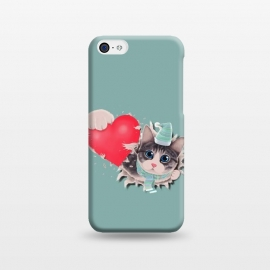 iPhone 5C  Cat Steal your Heart by Tummeow ()