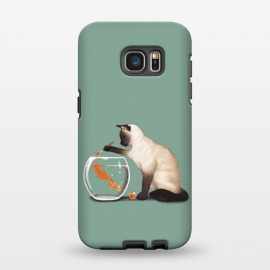 Galaxy S7 EDGE  Goldfish Need Friend by Tummeow