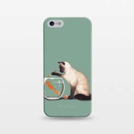 iPhone 5/5E/5s  Goldfish Need Friend by Tummeow ()