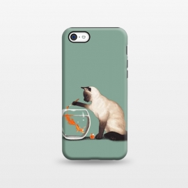 iPhone 5C  Goldfish Need Friend by Tummeow