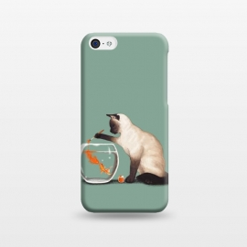 iPhone 5C  Goldfish Need Friend by Tummeow ()