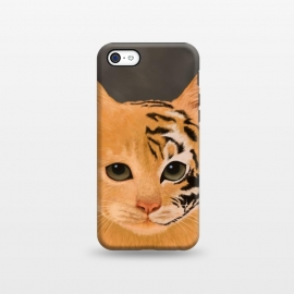 iPhone 5C  Tiger by Tummeow
