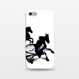 iPhone 5/5E/5s  Black Horses by  ()