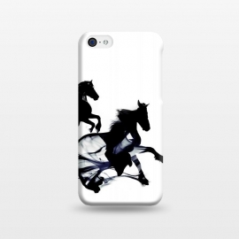 iPhone 5C  Black Horses by Róbert Farkas ()