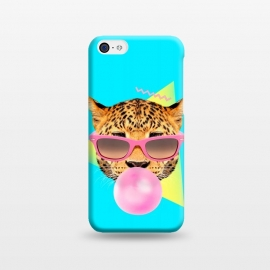 iPhone 5C  Bubble Gum Leo by Róbert Farkas