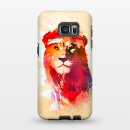 Galaxy S7 EDGE  Gym Lion by Róbert Farkas