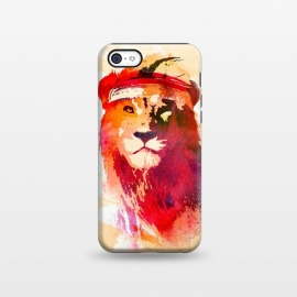 iPhone 5C  Gym Lion by Róbert Farkas