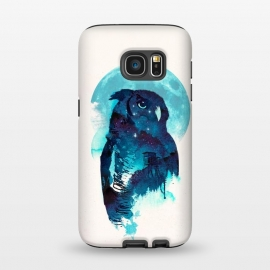 Galaxy S7  Midnight Owl by Róbert Farkas