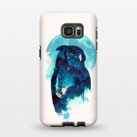 Galaxy S7 EDGE  Midnight Owl by Róbert Farkas