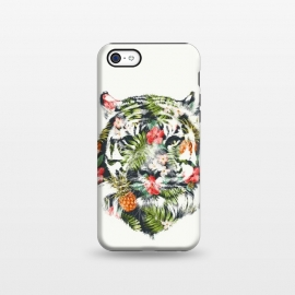 iPhone 5C  Tropical Tiger by Róbert Farkas