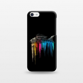 iPhone 5C  Bleed by Jay Maninang (fishbone,rainbow,colors,bleed,true colors,beauty beneath)