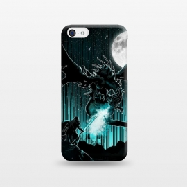 iPhone 5C  Meet The Myth by Jay Maninang (dragon,myth,warrior,mythology,creature,got)