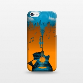 iPhone 5C  Music Cover by Jay Maninang (music,landscape,urban)