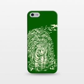 iPhone 5/5E/5s  WildPrint by Jay Maninang (tiger,thumbrpint,wildlife,wild,bigcats,cats,nature)