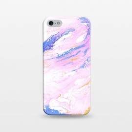 iPhone 5/5E/5s  AC4 by Ashley Camille (abstract,pink,gold)