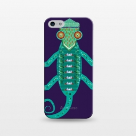 iPhone 5/5E/5s  chameleon by Parag K (art,illustration,animal,cartton,character,design,chameleon)