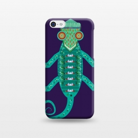 iPhone 5C  chameleon by Parag K (art,illustration,animal,cartton,character,design,chameleon)