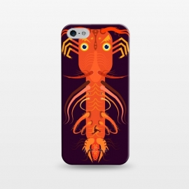 iPhone 5/5E/5s  Prawn by Parag K (art ,fish ,creative,illustration ,sea,character design,Beach ,Prawn)