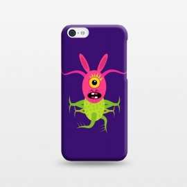 iPhone 5C  Rabitpink by Parag K (animal ,cartoon,character design ,art,face,green,artist)