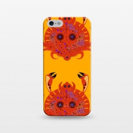 iPhone 5/5E/5s  Crab by Parag K (art ,animal,sea,fish,creative art,design,Crab)
