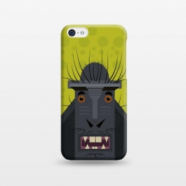 iPhone 5C   Monkey by Parag K (monkey ,animal,design,character,art,creative art,illustration)