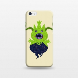 iPhone 5C  Greendoll by Parag K (art ,character design,animal,sea,garden,flower,horror,green)