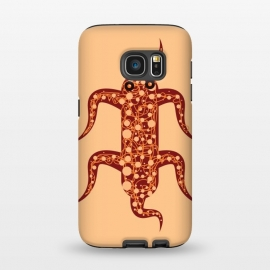 Galaxy S7 StrongFit Starfish by Parag K (art ,character,design,starfish,sea,beach)