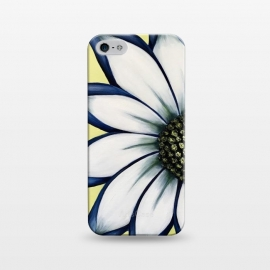iPhone 5/5E/5s  White African Daisy by Denise Cassidy Wood