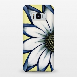 Galaxy S8+  White African Daisy by Denise Cassidy Wood