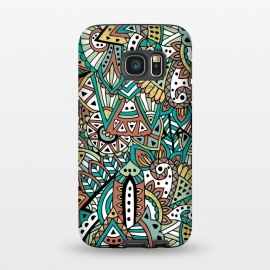 Galaxy S7  African Botanicals by Pom Graphic Design ()