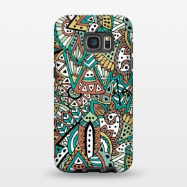Galaxy S7 EDGE  African Botanicals by Pom Graphic Design ()