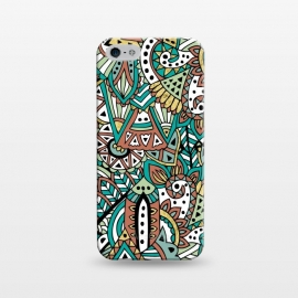 iPhone 5/5E/5s  African Botanicals by Pom Graphic Design ()