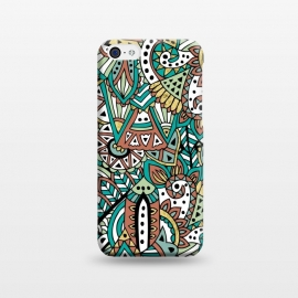 iPhone 5C  African Botanicals by Pom Graphic Design ()