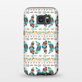 Galaxy S7  Feathers and Arrows by Pom Graphic Design ()